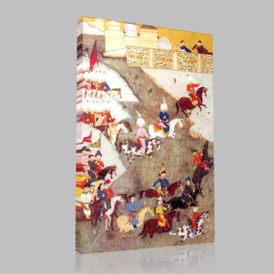 Szigetvar 1566 Kanvas Tablo