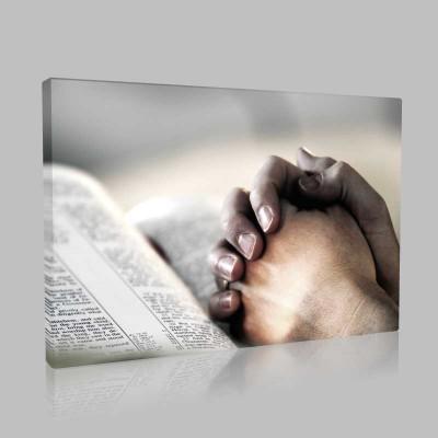 İnançlı Kanvas Tablo
