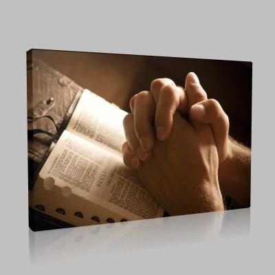 Dua Etmek Kanvas Tablo
