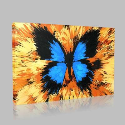 Tasarım Kelebekler 3 Kanvas Tablo