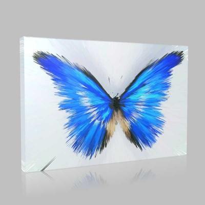 Tasarım Kelebekler 4 Kanvas Tablo