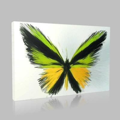 Tasarım Kelebekler 5 Kanvas Tablo