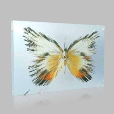 Tasarım Kelebekler 6 Kanvas Tablo