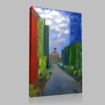 Pastel Manzaralar 2 Kanvas Tablo