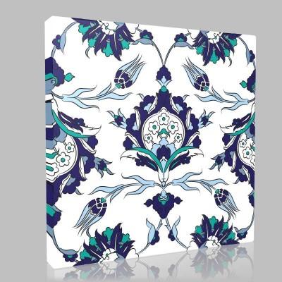 İznik Tiles 50 Kanvas Tablo