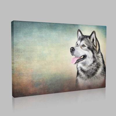 Wolf Kanvas Tablo
