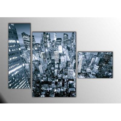 Nyc Parçalı Tablo 120X85Cm