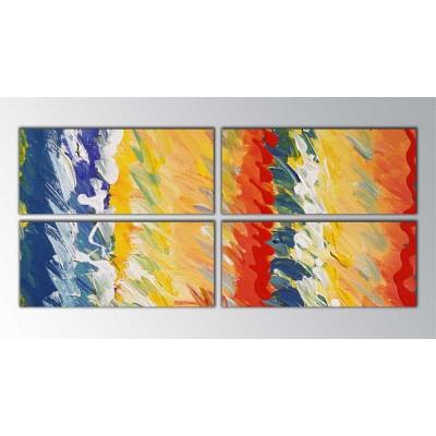 Güneş Ve Deniz Parçalı Tablo 160X70Cm