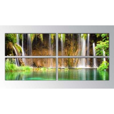 Waterfalls Parçalı Tablo 160X70Cm