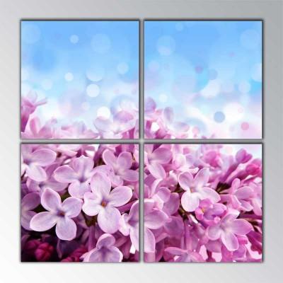 Pure Pink Parçalı Tablo 100 X100Cm