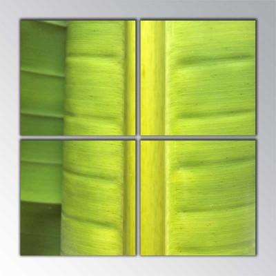Yeşil Parçalı Tablo 100 X100Cm
