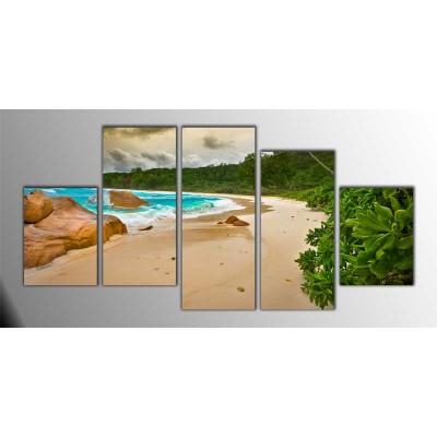 Karayipler Parçalı Tablo 150X75Cm